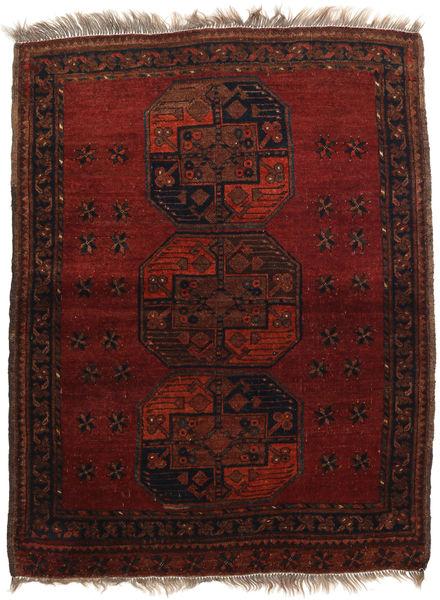 Afghan Khal Mohammadi Rug 106X137 Authentic  Oriental Handknotted Dark Red (Wool, Afghanistan)