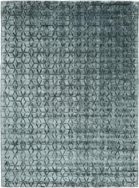 Diamond - Dark_Teal Rug 210X290 Modern Dark Grey/Blue ( India)