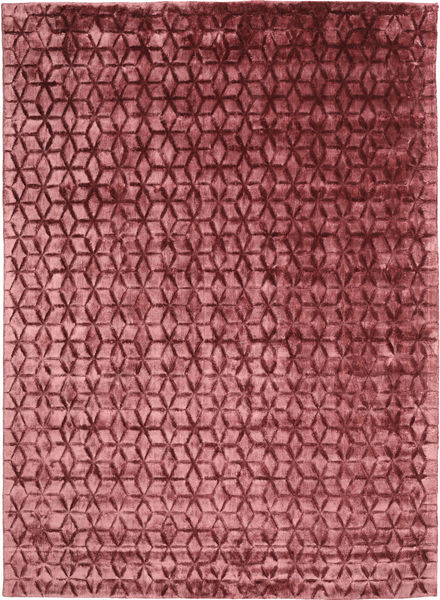 Diamond - Burgundy Rug 210X290 Modern Dark Red/Rust Red ( India)
