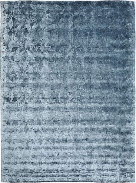 Crystal - Steel Blue Rug 300X400 Modern Light Blue/Dark Blue/Blue Large ( India)