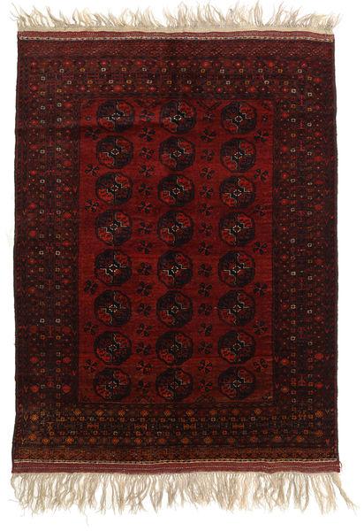 Afghan Khal Mohammadi Rug 150X196 Authentic  Oriental Handknotted Dark Brown/Dark Red (Wool, Afghanistan)