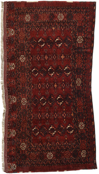 Afghan Khal Mohammadi Tappeto 92X189 Orientale Fatto A Mano Rosso Scuro (Lana, Afghanistan)