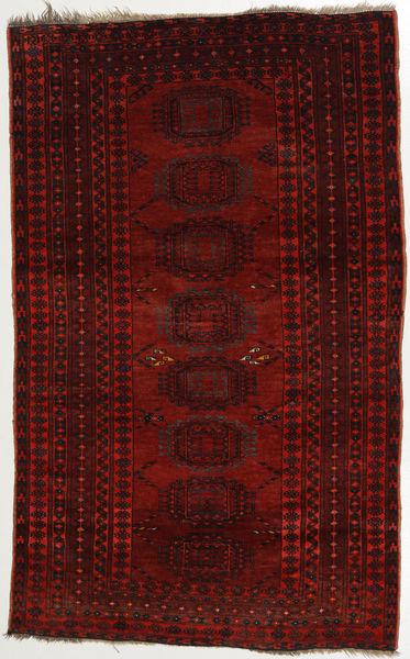 Afghan Khal Mohammadi Rug 107X176 Authentic  Oriental Handknotted Dark Brown/Crimson Red (Wool, Afghanistan)