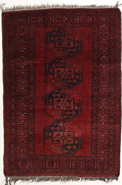 Afghan Khal Mohammadi Rug 118X166 Authentic  Oriental Handknotted Dark Red/Dark Brown (Wool, Afghanistan)