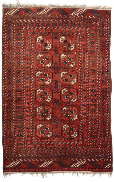 Afghan Khal Mohammadi Rug 128X193 Authentic  Oriental Handknotted Dark Red/Dark Brown (Wool, Afghanistan)