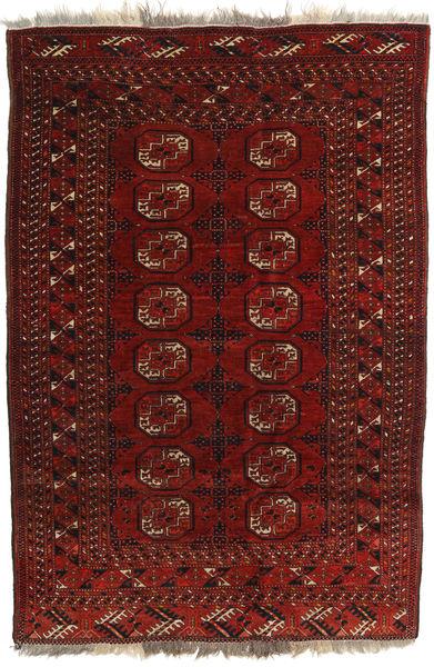 Afghan Khal Mohammadi Matto 127X180 Itämainen Käsinsolmittu Tummanpunainen/Tummanruskea (Villa, Afganistan)