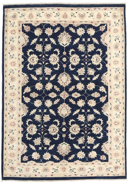 Ziegler Ariana 絨毯 141X203 オリエンタル 手織り 紺色の/ベージュ (ウール, アフガニスタン)