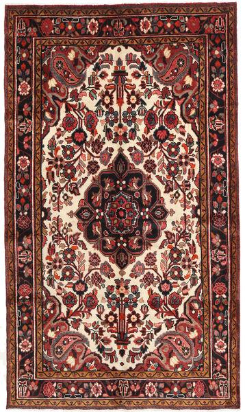 Hosseinabad Matto 150X261 Itämainen Käsinsolmittu Tummanpunainen/Ruskea (Villa, Persia/Iran)