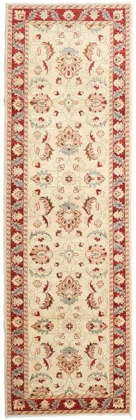 Ziegler Ariana Rug 96X315 Authentic  Oriental Handknotted Hallway Runner  Beige/Light Brown (Wool, Afghanistan)