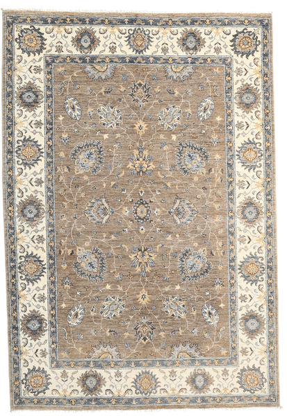 Ziegler Ariana Rug 165X241 Authentic  Oriental Handknotted Light Brown/Beige (Wool, Afghanistan)