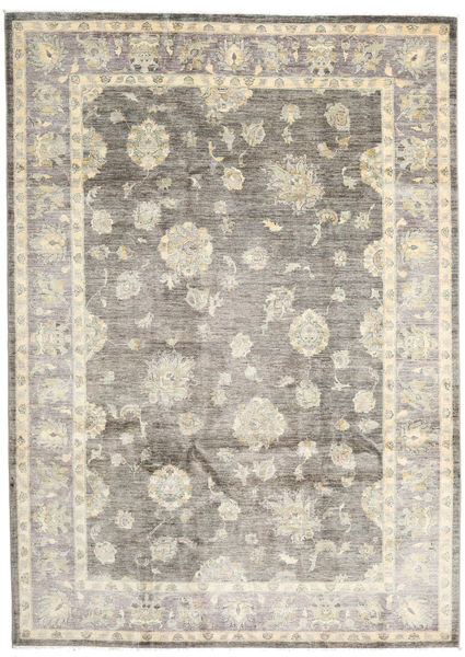 Ziegler Ariana Rug 211X297 Authentic  Oriental Handknotted Light Grey/Light Brown (Wool, Afghanistan)