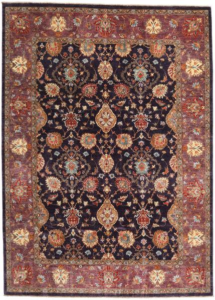 Ziegler Ariana Matto 203X282 Itämainen Käsinsolmittu Ruskea/Tummanvioletti (Villa, Afganistan)