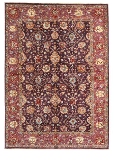 Ziegler Ariana Rug 172X239 Authentic  Oriental Handknotted Brown/Dark Red (Wool, Afghanistan)