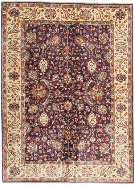 Ziegler Ariana Rug 173X236 Authentic  Oriental Handknotted Dark Red/Dark Brown (Wool, Afghanistan)