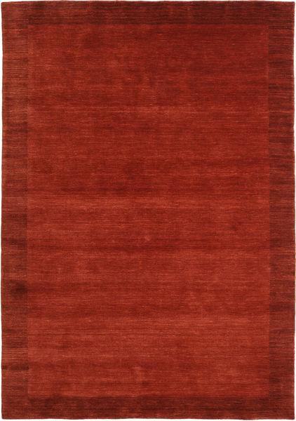 Handloom Frame - Rust Rug 160X230 Modern Rust Red/Dark Red (Wool, India)