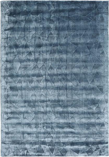 Crystal - Steel Blue Dywan 160X230 Nowoczesny Ciemnoniebieski/Niebieski/Jasnoniebieski ( Indie)