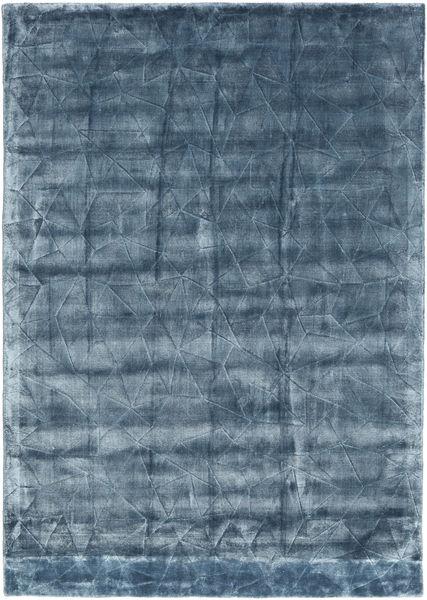 Crystal - Steel Blue Szőnyeg 140X200 Modern Sötétkék/Kék ( India)