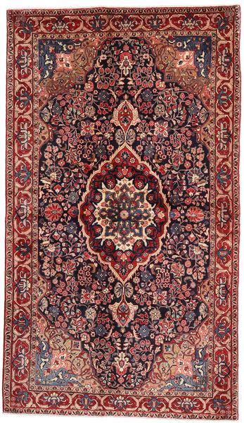 Jozan Matta 128X224 Äkta Orientalisk Handknuten Mörkgrön/Roströd (Ull, Persien/Iran)