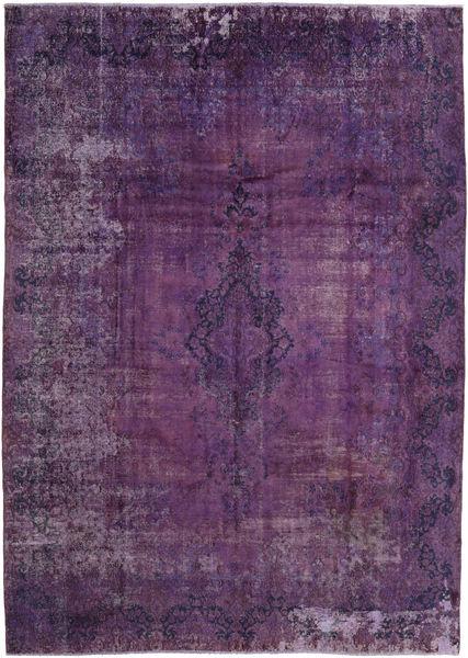 ヴィンテージ Heritage 絨毯 283X402 モダン 手織り 濃い紫/ピンク 大きな (ウール, ペルシャ/イラン)
