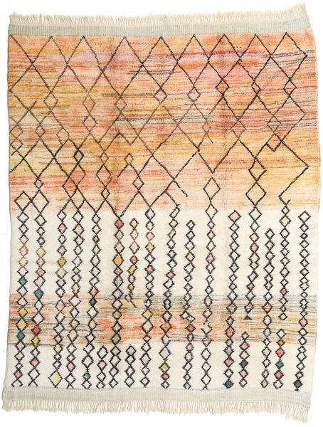Berber Moroccan - Beni Ourain 絨毯 281X341 モダン 手織り ベージュ/薄茶色 大きな (ウール, モロッコ)