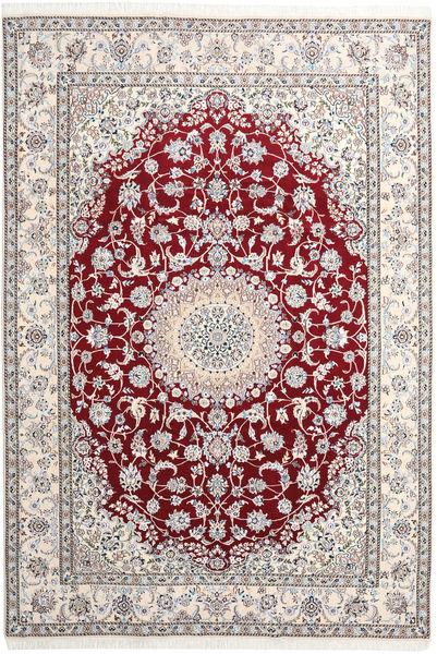 Nain 9La Matta 249X360 Äkta Orientalisk Handknuten Ljusgrå/Beige (Ull/Silke, Persien/Iran)