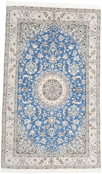 Nain 9La Tapijt 151X258 Echt Oosters Handgeknoopt Beige/Lichtgrijs (Wol/Zijde, Perzië/Iran)