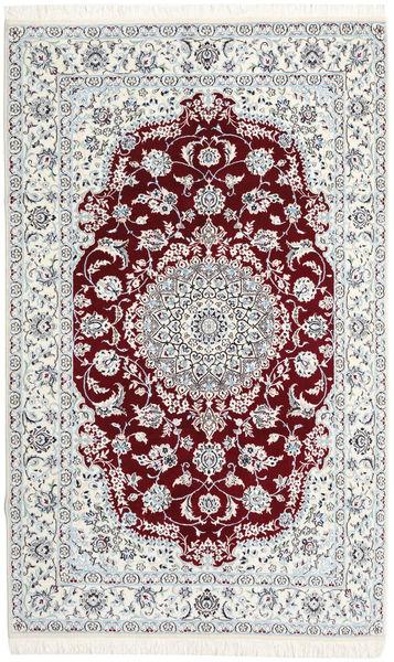 Nain 9La Vloerkleed 148X242 Echt Oosters Handgeknoopt Beige/Donkerrood (Wol/Zijde, Perzië/Iran)