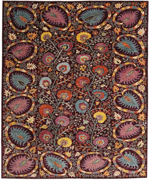 Afghan Exclusive Alfombra 248X300 Moderna Tejida A Mano Rojo Oscuro/Marrón Oscuro/Marrón Claro (Lana, Afganistán)