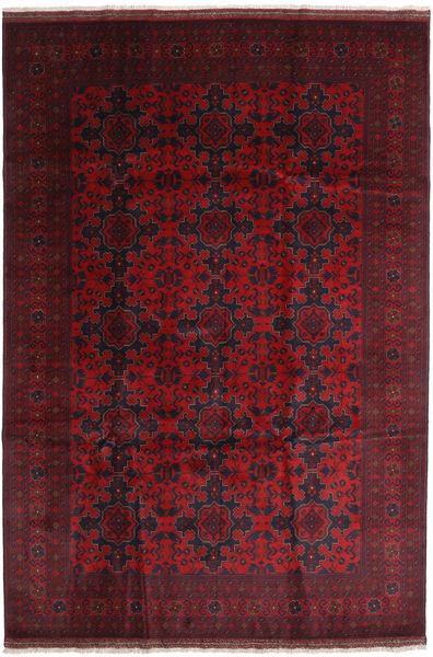Afghan Khal Mohammadi Rug 203X295 Authentic  Oriental Handknotted Dark Red (Wool, Afghanistan)