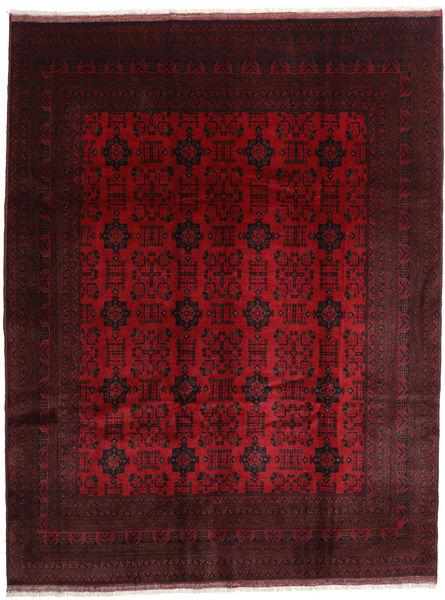 Afghan Khal Mohammadi Matto 254X344 Itämainen Käsinsolmittu Tummanruskea/Tummanpunainen Isot (Villa, Afganistan)