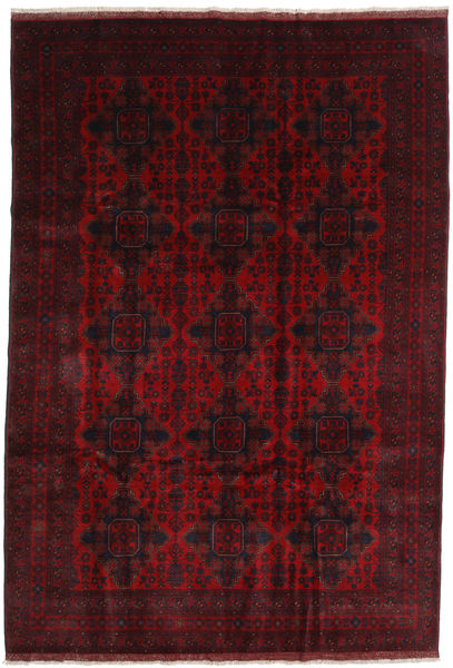 Afghan Khal Mohammadi Alfombra 201X295 Oriental Hecha A Mano Marrón Oscuro/Rojo Oscuro (Lana, Afganistán)