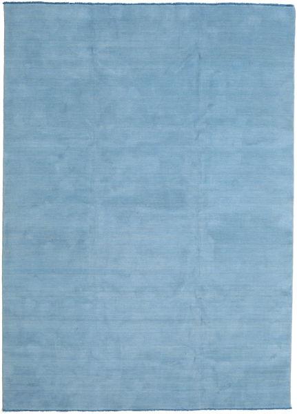 Handloom Fringes - Secondary Rug 250X350 Modern Light Blue Large (Wool, India)