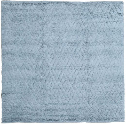 Soho Soft - Secondary Rug 250X250 Modern Square Light Blue/Blue Large (Wool, India)