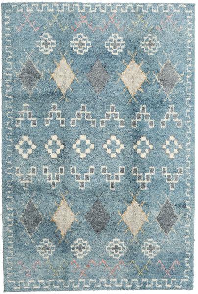 Zaurac - Secondary Rug 200X300 Authentic  Modern Handknotted Light Blue/Light Grey (Wool, India)