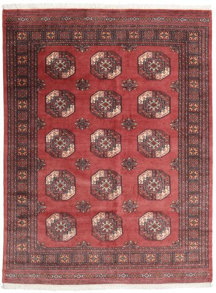 Pakistan Bokhara 3Ply Matto 168X222 Itämainen Käsinsolmittu Tummanpunainen/Ruoste (Villa, Pakistan)