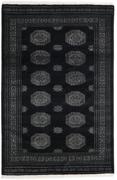 Pakistan Boukhara 3Ply Tapis 166X251 D'orient Fait Main Gris Foncé/Noir (Laine, Pakistan)