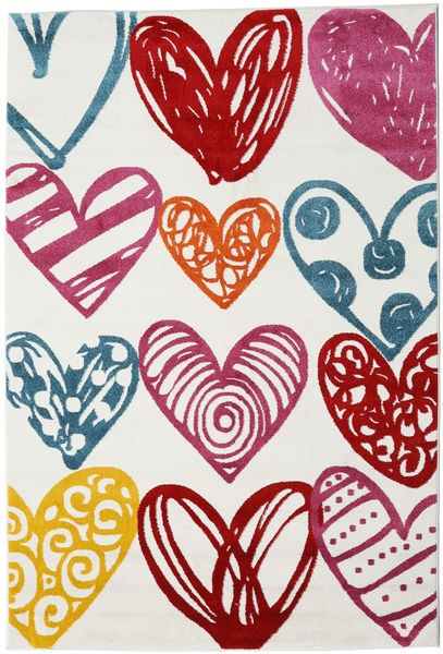 Sweethearts Rug 160X230 Modern Beige/Dark Red ( Turkey)