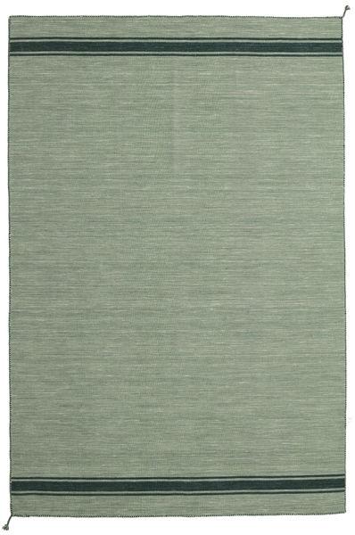 Ernst - Zielony/Ciemny _Green Dywan 200X300 Nowoczesny Tkany Ręcznie Jasnoszary/Zielony/Oliwkowy/Pastel Zielony (Wełna, Indie)