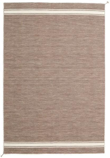 Ernst - Lichtbruin/Gebroken Wit Vloerkleed 200X300 Echt Modern Handgeweven Lichtgrijs (Wol, India)