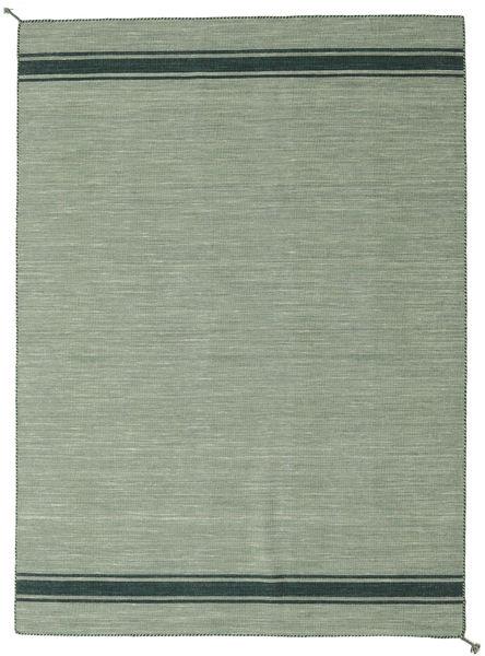 Ernst - Zöld/Sötét _Green Szőnyeg 170X240 Modern Kézi Szövésű Világosszürke/Pasztellzöld (Gyapjú, India)