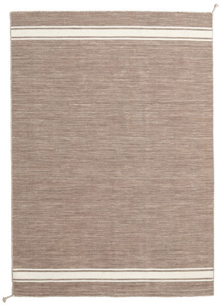 Ernst - Light Brown/Off White Rug 170X240 Authentic  Modern Handwoven Light Grey/Light Brown (Wool, India)