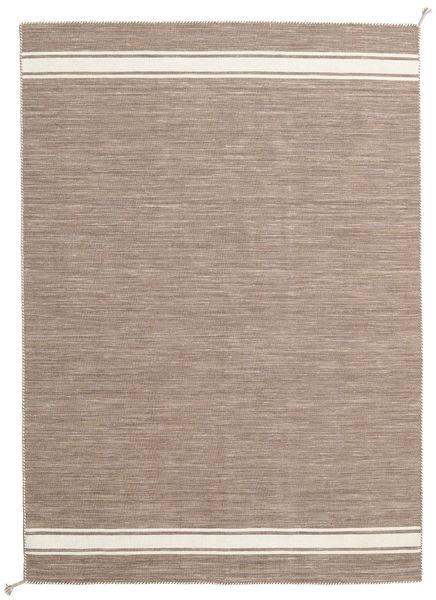 Ernst - Vaaleanruskea/Valkea Matto 170X240 Moderni Käsinkudottu Vaaleanharmaa/Vaaleanruskea (Villa, Intia)