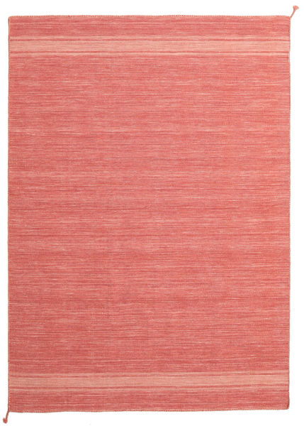 Ernst - Coral/Light_Coral Rug 170X240 Authentic  Modern Handwoven Light Pink/Crimson Red (Wool, India)