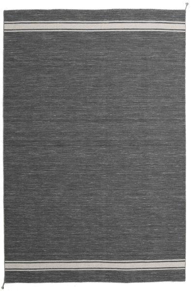Ernst - Dark Grey/Light Beige Rug 250X350 Authentic  Modern Handwoven Dark Grey Large (Wool, India)