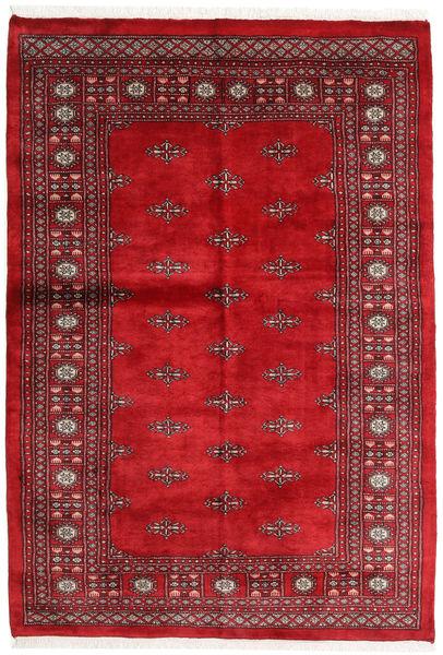 Pakistan Bokhara 3Ply Matto 136X197 Itämainen Käsinsolmittu Tummanpunainen/Punainen (Villa, Pakistan)