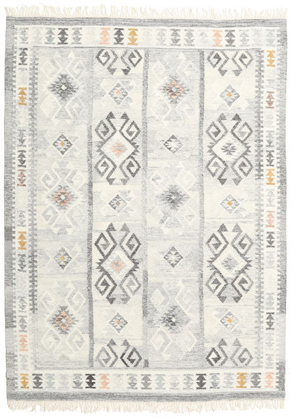 Mentra Alfombra 160X230 Moderna Tejida A Mano Beige/Gris Claro (Lana, India)