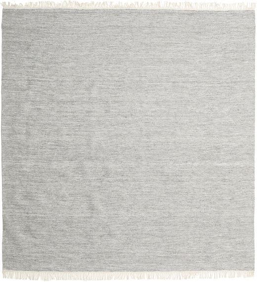 Melange - Grey Rug 250X250 Authentic  Modern Handwoven Square Light Grey/Beige Large (Wool, India)