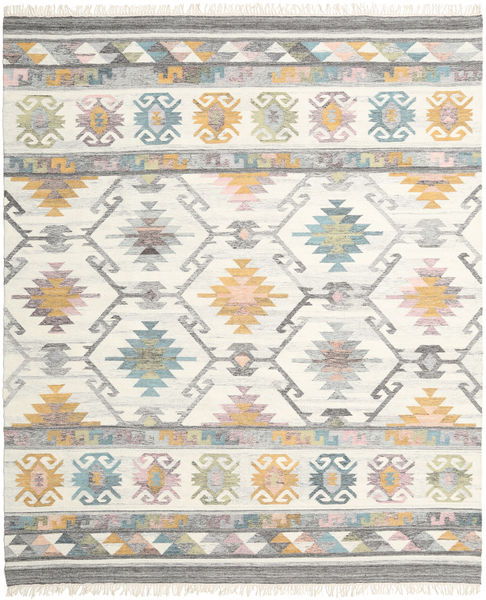 Mirza Rug 250X300 Authentic  Modern Handwoven Light Grey/Beige Large (Wool, India)