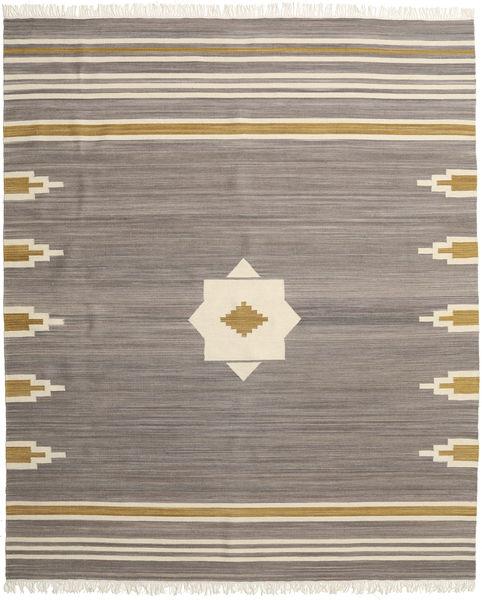 Tribal - Grå Matta 250X300 Äkta Modern Handvävd Ljusgrå/Ljusbrun Stor (Ull, Indien)