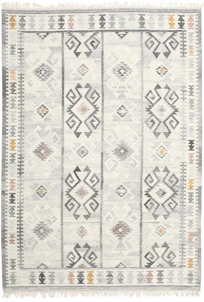 Mentra Szőnyeg 200X300 Modern Kézi Szövésű Sötét Bézs/Bézs/Világosszürke (Gyapjú, India)